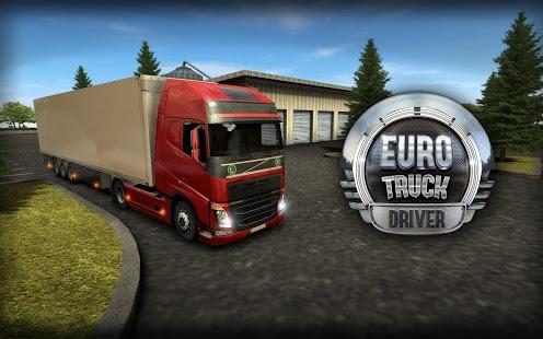 بازی اندروید راننده کامیون اروپا - Euro Truck Driver (Simulator)