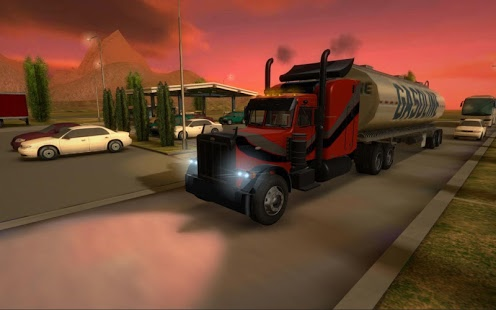 بازی اندروید شبیه ساز کامیون - Truck Simulator 3D