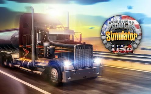 بازی اندروید شبیه ساز کامیون آمریکایی - Truck Simulator USA