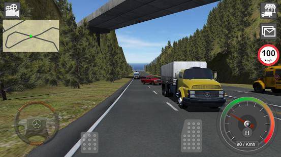 بازی اندروید کامیون بنز - GBD Mercedes Truck Simulator