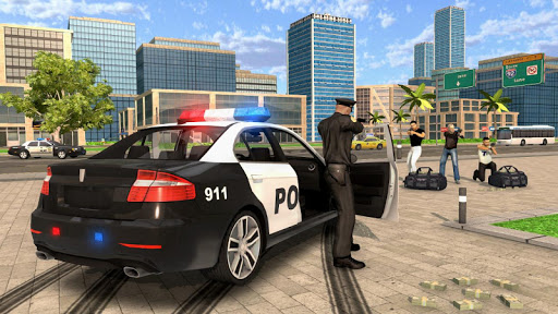 بازی اندروید ماشین پلیس - Police Car Chase - Cop Simulator