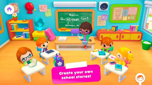 بازی اندروید  داستان های مدرسه آفتابی - Sunny School Stories