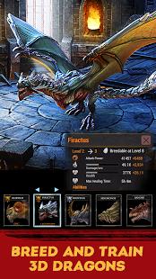 بازی اندروید نبرد اژدها - War Dragons
