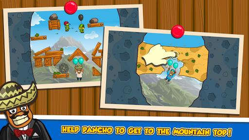 بازی اندروید مسیر آمیگو به کوه - Amigo Pancho 2: Puzzle Journey