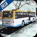 راننده اتوبوس تپه زمستانی