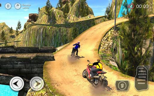 بازی اندروید مسابقه  موتور آفرود - Offroad Bike Racing