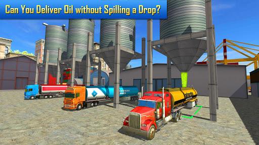 بازی اندروید تانکرحمل نفت - Oil Tanker Transporter Truck Simulator