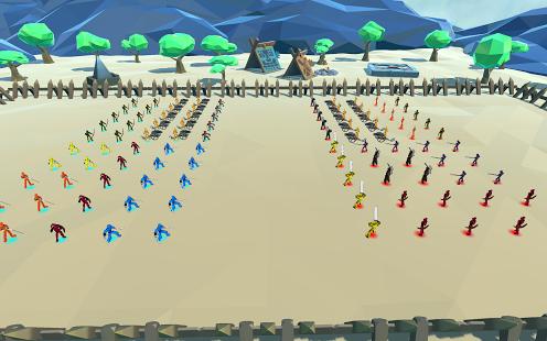 بازی اندروید نبرد حماسی - Epic Battle Simulator