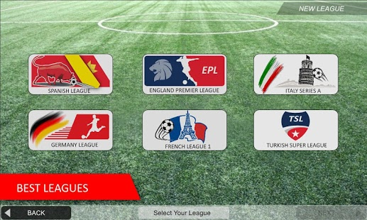 بازی اندروید لیگ فوتبال موبایل - Mobile Soccer League