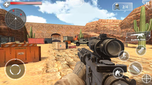 بازی اندروید قاتل تفنگدار - Shoot Hunter-Gun Killer
