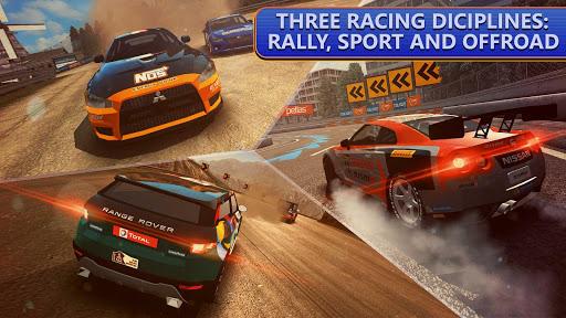بازی اندروید مسابقات رالی - DRIVELINE : Rally, Asphalt and Off-Road Racing