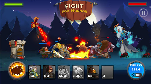 بازی اندروید قلعه پادشاهی - Castle Kingdom: Crush in Free Strategy Card Games