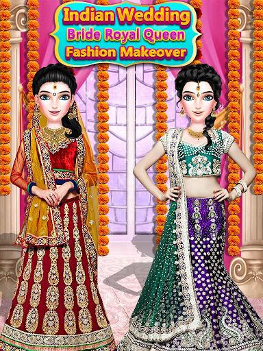 بازی اندروید عروسی هند - ملکه رویایی - Indian Wedding Bride Royal Queen Fashion Makeover
