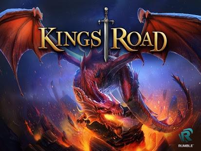 بازی اندروید مسیر پادشاهان - KingsRoad