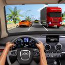 ترافیک بزرگراه اتومبیل مسابقه