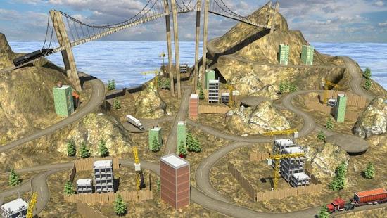 بازی اندروید راننده کامیون سنگین - Heavy Truck Driver Simulator