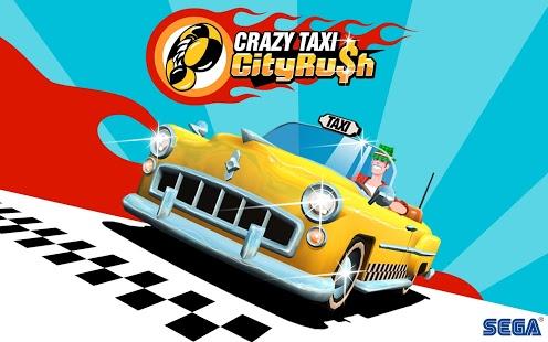 بازی اندروید تاکسی دیوانه - یورش در شهر - Crazy Taxi™ City Rush