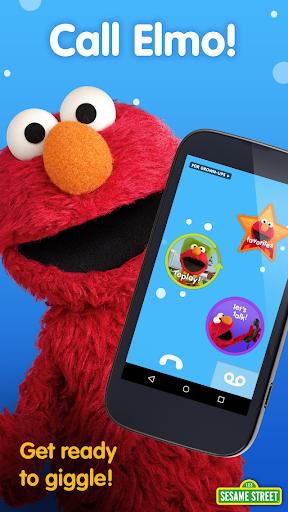 بازی اندروید تماس با المو - Elmo Calls by Sesame Street