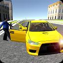راندن تاکسی در شهر بزرگ