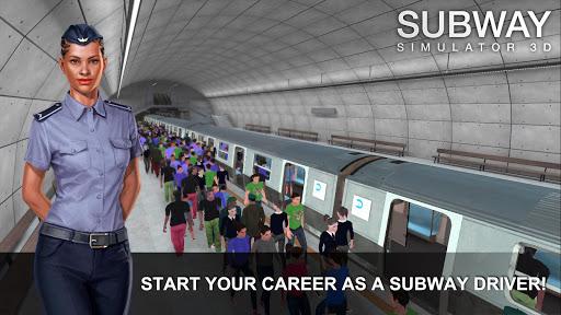 بازی اندروید شبیه ساز مترو - Subway Simulator 3D
