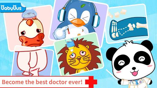 بازی اندروید بیمارستان بچه پاندا - Baby Panda's Hospital