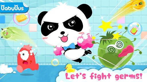 بازی اندروید حمام کودک پاندا - Baby Panda's Bath Time
