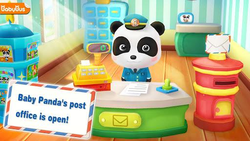 بازی اندروید پازل منبت کاری اره مویی پاندا - پست الکترونیک جادویی - Baby Panda Postman-Magical Jigsaw Puzzles