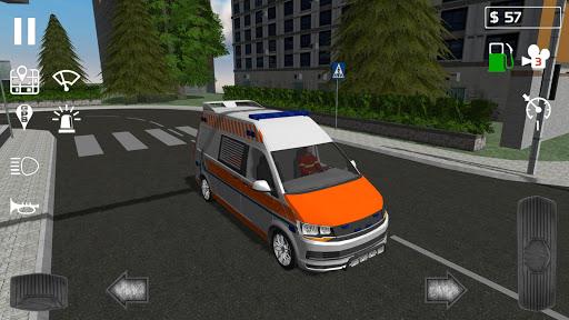 بازی اندروید آمبولانس اضطراری - Emergency Ambulance Simulator