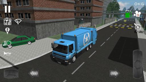 بازی اندروید شبیه ساز کامیون زباله - Trash Truck Simulator