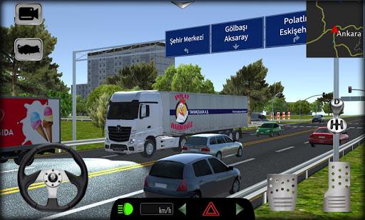 بازی اندروید شبیه ساز بارگیری محموله در جاده های ترکیه - Cargo Simulator 2019: Turkey