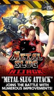 بازی اندروید حمله سنگین - METAL SLUG ATTACK