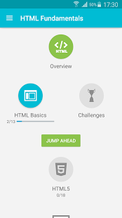 نرم افزار اندروید یادگیری اچ تی ام ال - Learn HTML
