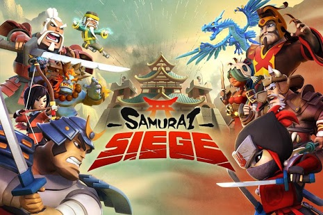 بازی اندروید محاصره سامورایی - اتحاد جنگی - Samurai Siege: Alliance Wars