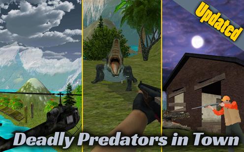 بازی اندروید حمله تمساح - Crocodile Attack 2016-Sniper3D