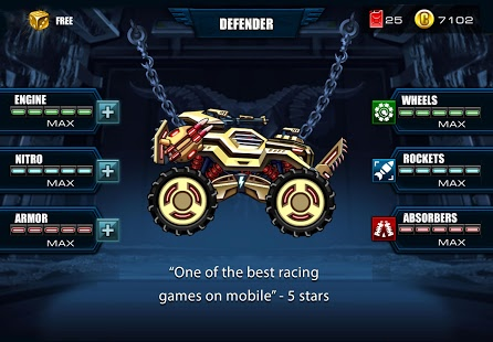 بازی اندروید مسابقه چالش ماشین - Mad Truck Challenge Racing