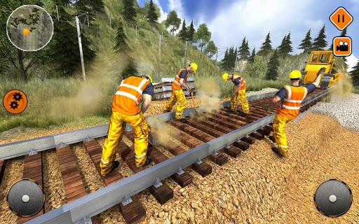 بازی اندروید ساخت ریل قطار - Indian Train Construction 2017