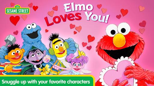 نرم افزار اندروید المو شما را دوست دارد - Elmo Loves You