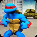 بازی لاک پشت نینجا جنگجوی تاریکی - حمله تانک