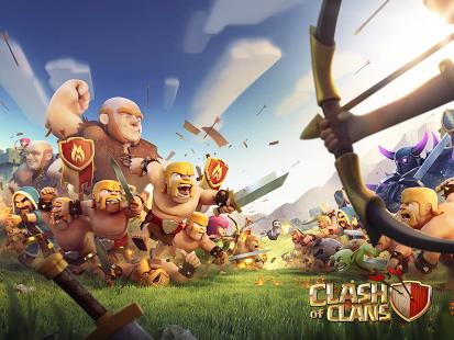 بازی اندروید کلش آف کلنز - Clash of Clans