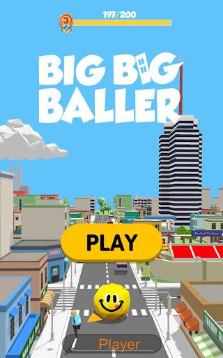 بازی اندروید توپ بزرگ - Big Big Baller