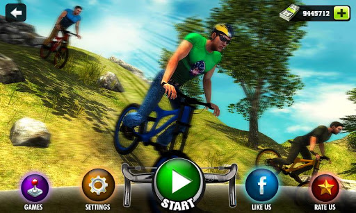 بازی اندروید دوچرخه سوار آفرود - Uphill Offroad Bicycle Rider