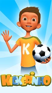 بازی اندروید کیکرینو - حرکات نمایشی فوتبال - Kickerinho