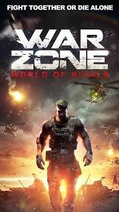 بازی اندروید منطقه جنگی - جهان رقبا - War Zone: World of Rivals