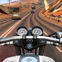 موتور سوار - ترافیک بزرگراه