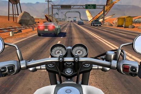 بازی اندروید موتور سوار - ترافیک بزرگراه - Moto Rider GO: Highway Traffic