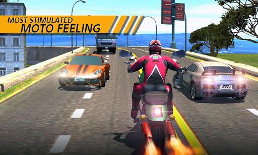 بازی اندروید راننده موتور - Moto Rider