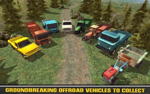 بازی اندروید راننده تپه - Off-Road 4x4 Hill Driver