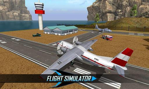 بازی اندروید شبیه ساز پرواز 2017 - Flying Simulator 2017 - Airplane Flight Pilot 3D