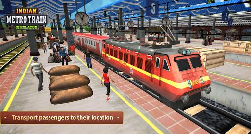 بازی اندروید شبیه ساز قطار هند - Indian Metro Train Simulator