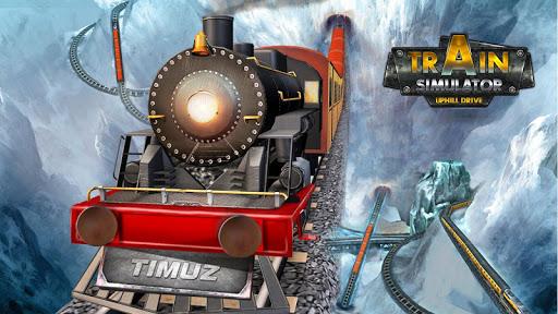 بازی اندروید شبیه ساز راننده قطار - Train Simulator Uphill Drive